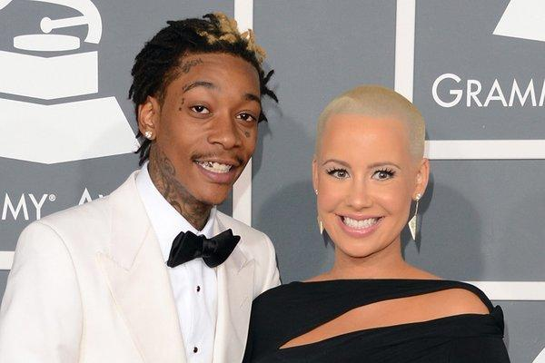 Wiz Khalifa and Amber Rose welcomed a son on Thursday.