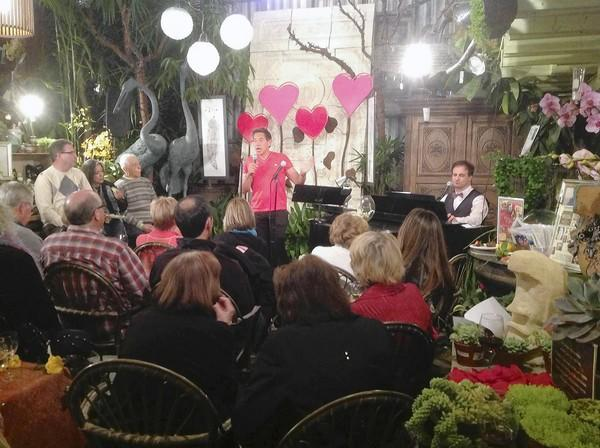 The Laguna Nursery hosted a Valentine's Day Cabaret this past weekend.
