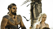 Daenerys and Khal Drogo, 'Game of Thrones'