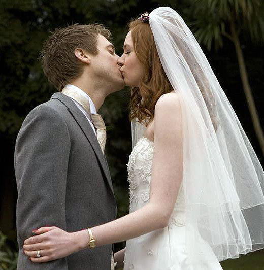 The best and worst TV weddings, from 'Downton Abbey' to 'The Office': You could argue that Matt Smiths entire first season as the Doctor in a way built up to the wedding between his companion Amy Pond and her sometimes boyfriend Rory Williams. You cannot argue that once it finally got there, it was wonderful.  -- Rick Porter, Zap2it