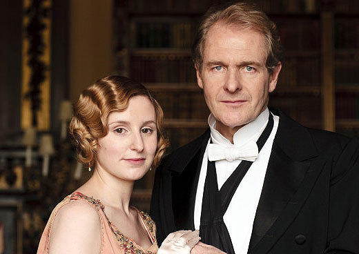 The best and worst TV weddings, from 'Downton Abbey' to 'The Office': We should have known something was up when plans for Ediths wedding to the much older Anthony seemed to be going so well, despite Lord Granthams misgivings. Sure enough, Roberts worries worked their way into Anthonys head (and, to be fair, he had tried to discourage Edith as well), resulting in his leaving her at the altar, thereby proving one of the unwritten rules of Downton Abbey: Lady Ediths lot is to suffer.  -- Rick Porter, Zap2it