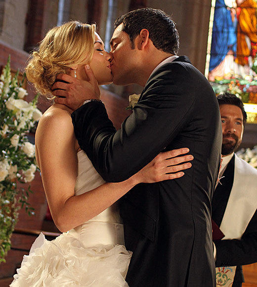 The best and worst TV weddings, from 'Downton Abbey' to 'The Office': In the Season 4 finale -- which, for all anyone knew at the time of filming, would be the series ender -- Chuck finally tied the knot with Sarah, his protector-turned-partner-turned-love of his life. That it came after an episode where Chuck lost the Intersect but still managed to save her made it that much sweeter.  -- Rick Porter, Zap2it