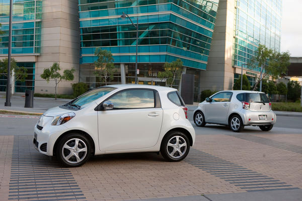 The Scion iQ is ranked No. 7. Base price: $15,495; fuel economy: 37 mpg; cost per 1 mpg: $418.78.