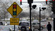 Embattled red-light camera vendor Redflex Traffic Systems Inc. fired its executive vice president Wednesday and accused him of misconduct involving the company's scandal-plagued Chicago contract.