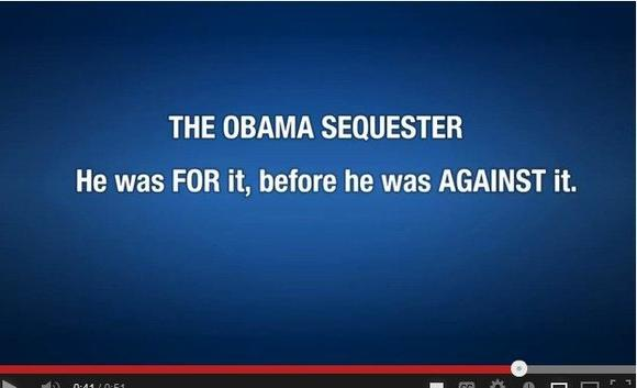 A screen grab from a new Republican National Committee video