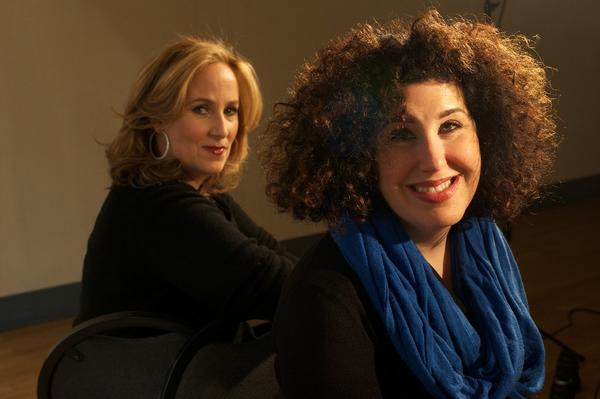Zina Goldrich, left, and Marcy Heisler.