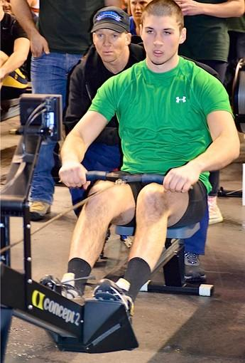 Ryan O'Rourke, a Saucon Valley resident who is one of the top young rowers in the country.