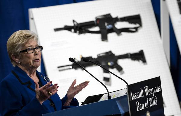 Rep. Carolyn McCarthy (D-N.Y.) is the author of a House bill on background checks. The advocacy group Organizing for Action is holding a series of events Friday to support gun control measures.