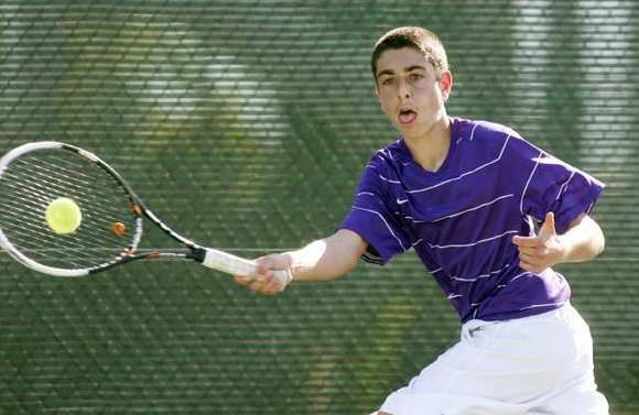 Hoover's standout returning singles player Emile Ohanyan advanced to the semifinals in the league tournament last season.