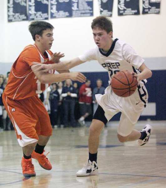 ARCHIVE PHOTO: Flintridge Prep's Robert Cartwright is leading the Rebels, averaging 23 points a game these playoffs.