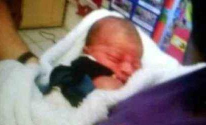A baby was found wrapped in a blanket in a parking between two churches in Pompano Beach