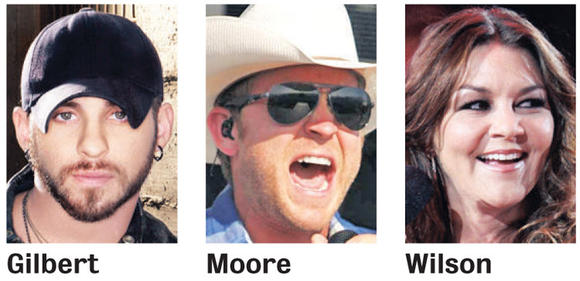 2013 headliners at the Brown County Fair