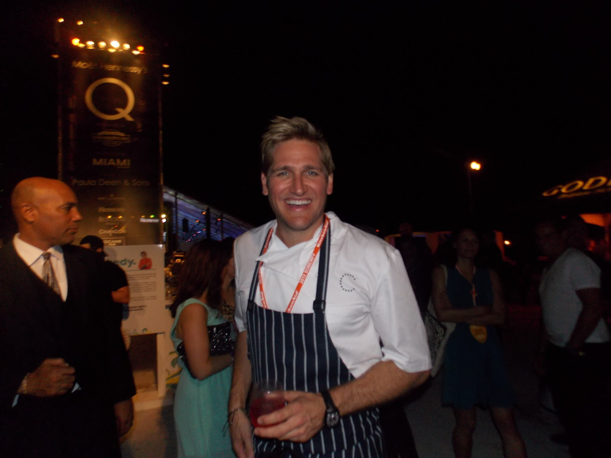 Celeb-spotting at SoBe Wine and Food Festival - Curtis Stone