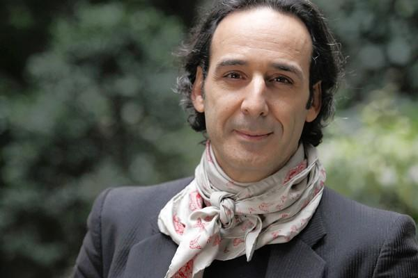 French film composer Alexandre Desplat