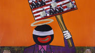 "It is not unusual to see art that tackles social and political issues, but there's still something startling about Jeffrey Kent's solo show ""Preach!"" at the Frederick Douglass-Isaac Myers Maritime Park."