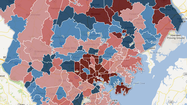 Average price change for Baltimore-area homes - All of 2012