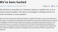 Twitter, Tumblr, Pinterest user information exposed in hack attack