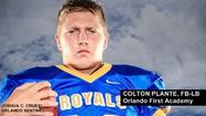 Orlando First Academy FB-LB Colton Plante headed to Naval Academy