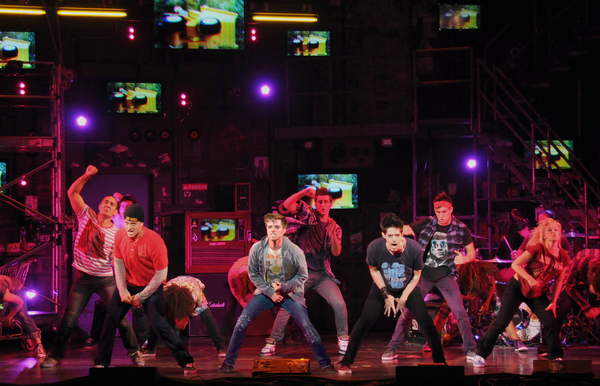 "A scwene from the touring production of Green Day's ""American Idiot"""