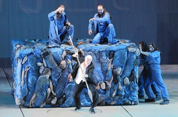 "Andreas Kriegenburg's new production of Richard Wagner's ""Der Ring des Nibelungen"" at the Bavarian State Opera in Munich."