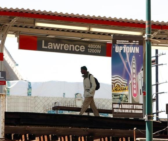 The Lawrence Red Line stop