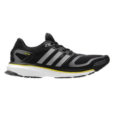 Adidas Boost has foam midsoles that are meant to combine shock-absorption with a higher energy rebound effect.