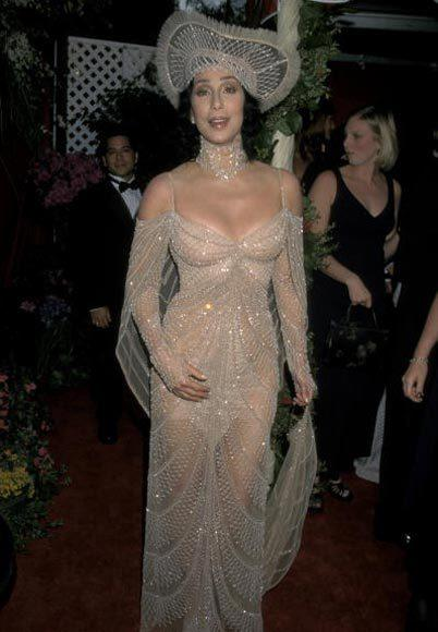Academy Awards fashions through the years: Cher, 1998