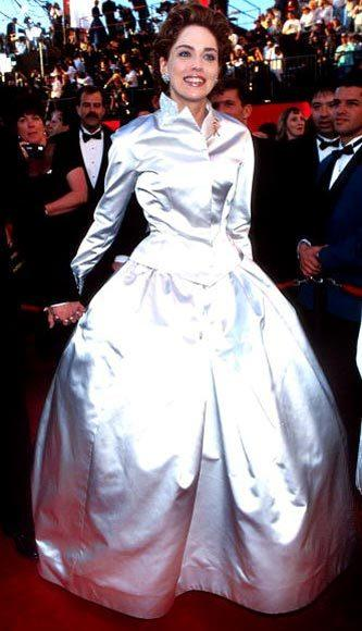 Academy Awards fashions through the years: Sharon Stone, 1995