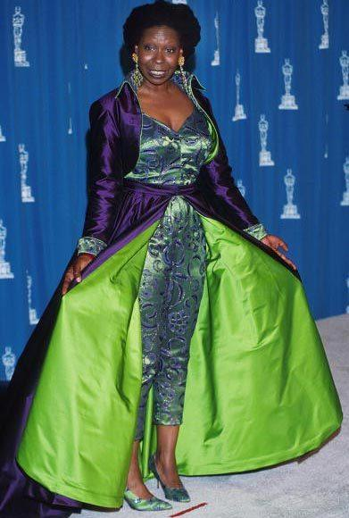 Academy Awards fashions through the years: Whoopi Goldberg, 1993