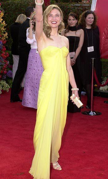 Academy Awards fashions through the years: Renee Zellweger, 2001