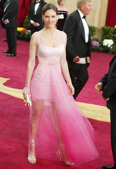 Academy Awards fashions through the years: Hilary Swank, 2003