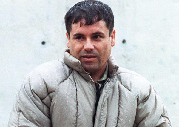 "This archive photo of drug lord Joaquin ""Chapo"" Guzman was taken 10 July 1993. (AFP/Getty Images)"