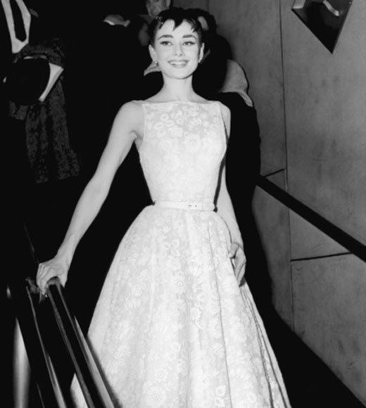 Academy Awards fashions through the years: Audrey Hepburn, 1954