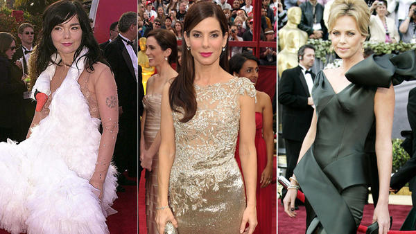 Academy Awards fashions through the years: The Academy Awards red carpet has become almost bigger than the awards show itself, so the last 15 years or so have given us some real dazzlers and disappointments. It wasnt always quite as big of a deal as it is now, but weve managed to dig up some Oscar fashions from way back, too.  Lets take a look at Oscar fashions through the years -- the good, the bad and the weird.