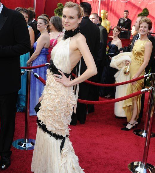 Academy Awards fashions through the years: Diane Kruger, 2010