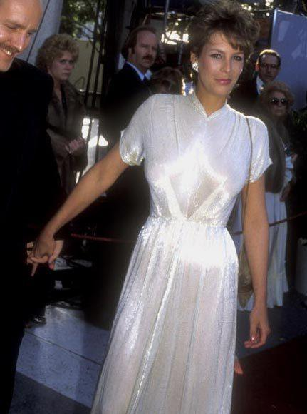 Academy Awards fashions through the years: Jamie Lee Curtis, 1983