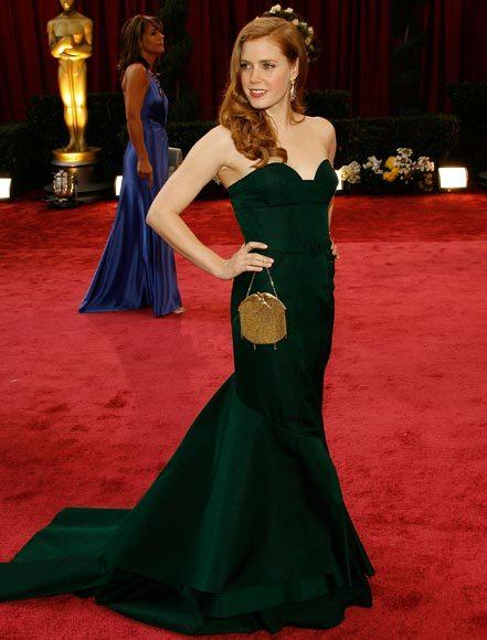 Academy Awards fashions through the years: Amy Adams, 2008
