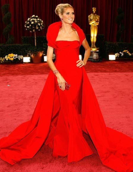 Academy Awards fashions through the years: Heidi Klum, 2008