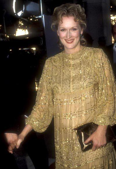 Academy Awards fashions through the years: Meryl Streep, 1983