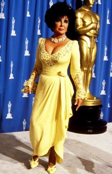 Academy Awards fashions through the years: Elizabeth Taylor, 1993