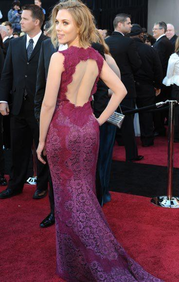 Academy Awards fashions through the years: Scarlett Johansson, 2011
