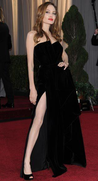 Academy Awards fashions through the years: Angelina Jolie, 2012