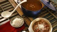 <strong>Chicken and andouille smoked sausage gumbo</strong>