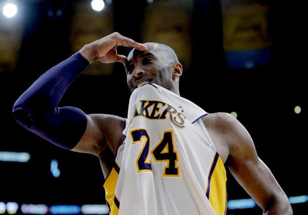 Kobe Bryant has one more year at $30.5 million left on his contract with the Lakers.