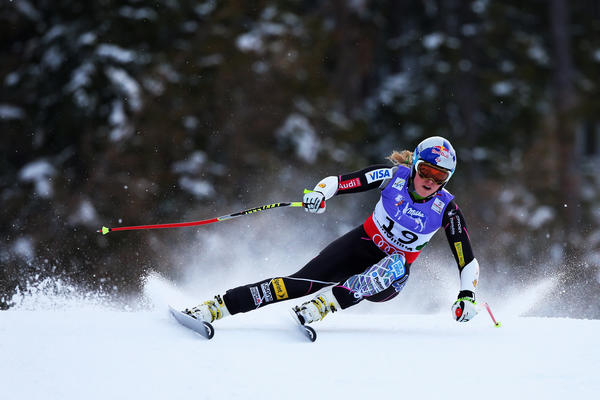 Lindsey Vonn during her ill-fated run in the super-giant slalom at the world championships this month in Schladming, Austria.
