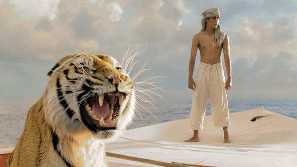 "Visual effects workers are protesting the bankruptcy filing of Rhythm & Hues, the studio that did most of the visual effects work for the Oscar-nominated ""Life of Pi."""