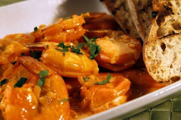 The recipe for Roberto's gambas Mozambique comes from Espana Restaurant on Florida's Amelia Island.