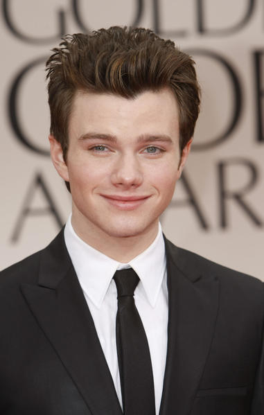 """Glee"" star Chris Colfer came out to an ""Access Hollywood"" reporter in an interview in 2009. The Times profiled Colfer's rise from small town stage actor to ""Glee"" soprano <a href=""http://latimesblogs.latimes.com/showtracker/2009/09/glee-creator-and-executive-producer-ryan-murphy-discovered-chris-colfer-but-dont-tell-the-young-actor-that-it-makes-him-feel.html"">here.</a>"