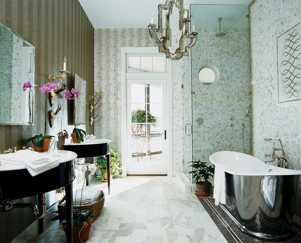 Most remodeling experts say that upgrading kitchens and baths provide big returns. According to the last report from remodelormove.com, bathrooms tied with kitchens for the room most home remodelers plan to improve this year.