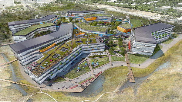 New Google campus planned, turning the Googleplex into a megaplex